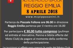 02. Locandina 8 Aprile 2008 - Mostra Scambio Auto e Moto dEpoca Reggio Emilia