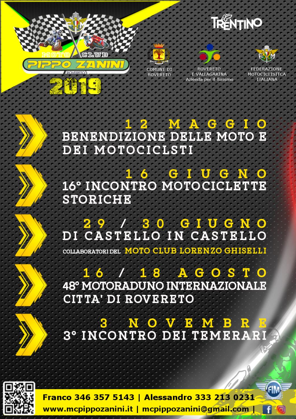 01. Locandina Date Ufficiali 2019