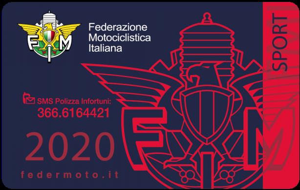 2020. 77 - Tesseramento Federale - 2