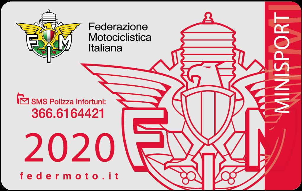 2020. 77 - Tesseramento Federale - 3