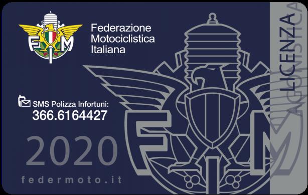 2020. 77 - Tesseramento Federale - 4
