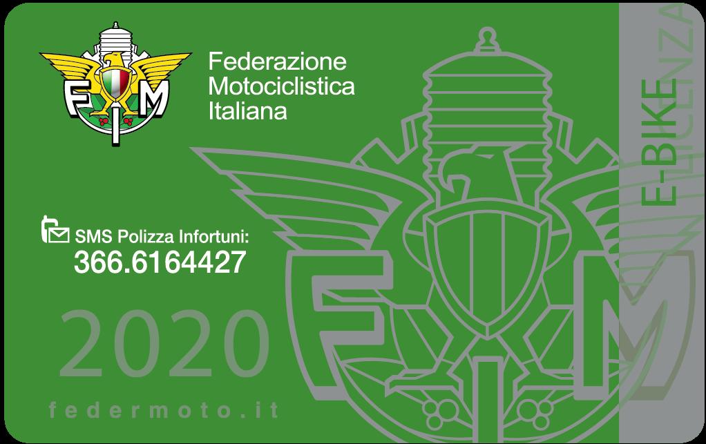 2020. 77 - Tesseramento Federale - 5