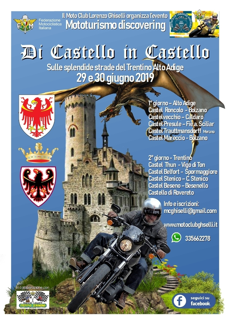 Di Castello in Castello – Turismo Discovering 2019