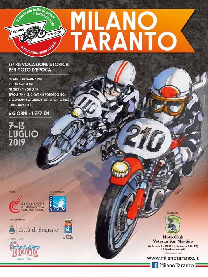 Rovereto ospita la 33° Milano-Taranto