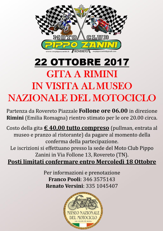 Gita al Museo Nazionale del Motociclo a Rimini