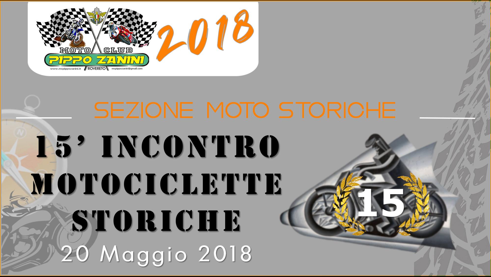 15′ Incontro Motociclette Storiche