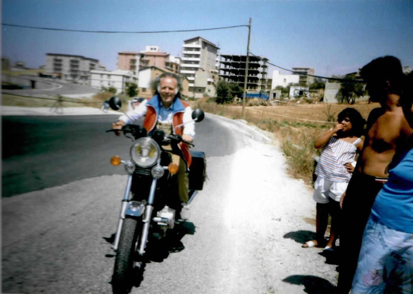 Addio al pioniere del Motoraduno Cittá di Rovereto