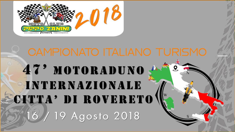 47° Motoraduno Internazionale Città di Rovereto | Il programma