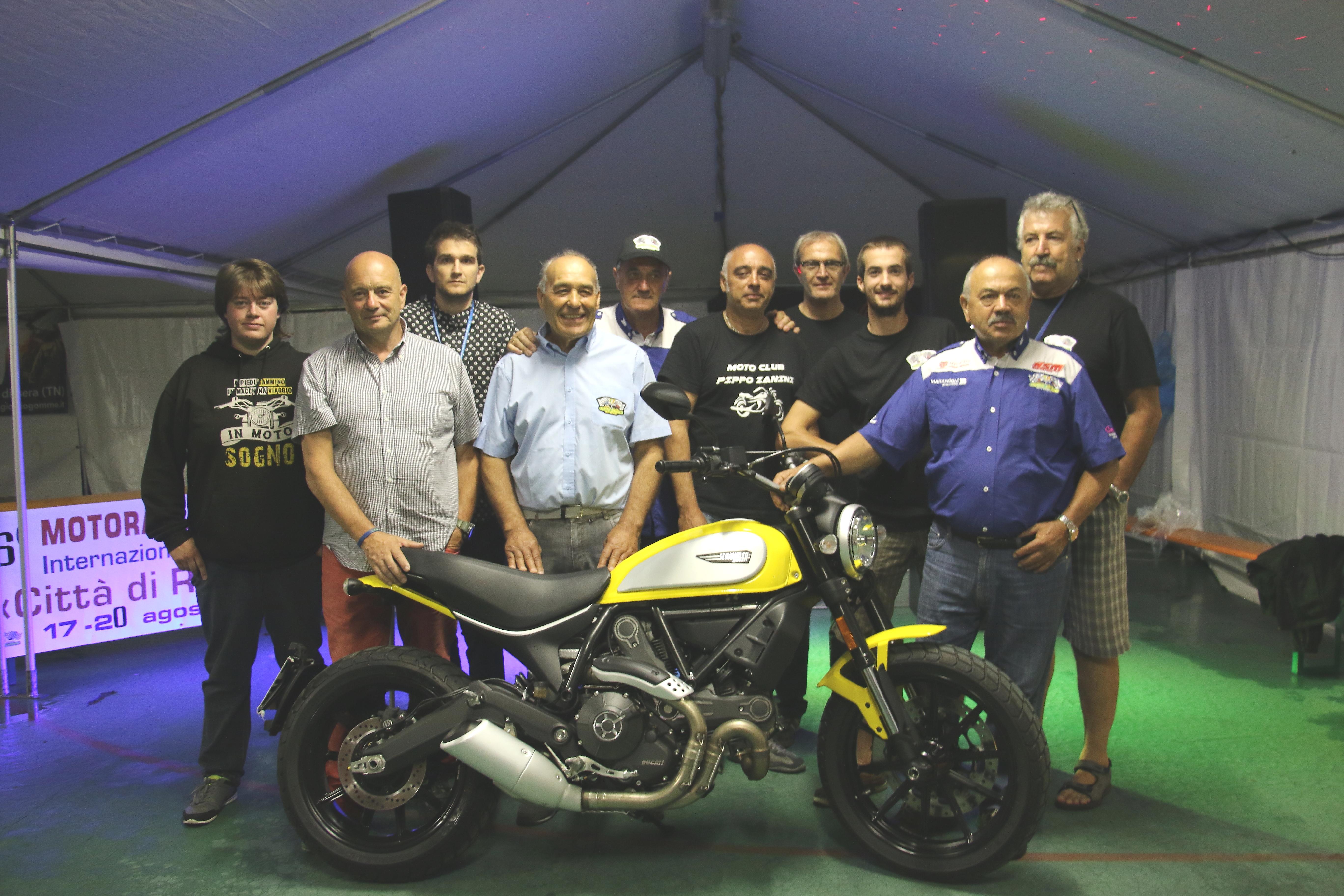Biglietti vincenti 2° lotteria Moto Club Pippo Zanini